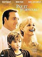 PAY IT FORWARD DVD. Wonderful warmhearted movie with Kevin Spacey, Helen Hunt
