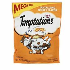 3 PACK Temptations Cat Treats Tantalizing Turkey Flavor Pet Classic