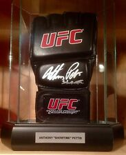 Anthony Showtime Pettis Signed Official UFC Fighting Sparring MMA Glove Pic COA