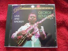 George Benson Live Smokin 1996 cd Jazz guitar