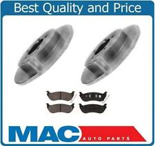(2) Rear Disc Brake Rotor & Ceramic Pads For EXPLORER 2002-2010