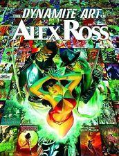 DYNAMITE ART OF ALEX ROSS HC  Vampirella Avengers Captain America Iron Man  NEW