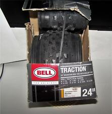 """Bell Traction 24"""" Mountain Bike Tire With Dupont Kevlar Fiber"""