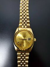 Lorologio Gold Plated Watch new battery working