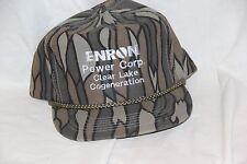 Enron  Power Corp Clear Lake Cogeneration Camo  Adjustable HAT / CAP