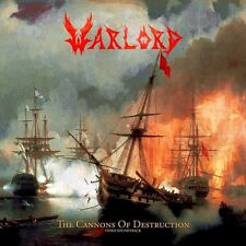 WARLORD - THE CANNONS OF DESTRUCTION - CD NEW SEALED 2015 - NR. COPY # 095/500