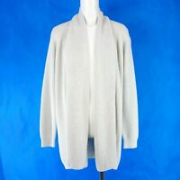 Repeat Ladies Women's Jacket Cardigan Knit Cardigan 40 Cotton Beige New