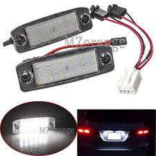 LED License Plate Lights For Hyundai Tuscon Sonata YF For Kia Sportage 2011-2015