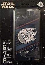 D-TECH STAR WARS BLACK SPIRE OUT POST MILLENNIUM FALCON IPHONE 6 7 8PLUS CASE