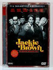 DVD Tarantino JACKIE BROWN dt. OVP Super Jewel Case Keaton/De Niro/Fonda/Grier