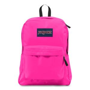"""Jansport """"Superbreak"""" OG Backpack Classic School Book Bag Original Authentic"""