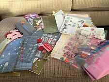 CARD MAKING BUNDLE CRAFT TISSUE PAPER CUTTER OVER 50 STICKER SHEETS CARD