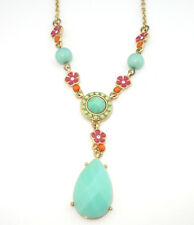 Pendant Necklace Carolee Blue Stone