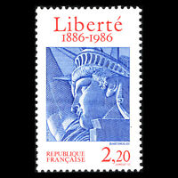France 1986 - 100th Anniversary of the Statue of Liberty - Sc 2014 MNH