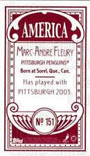 2003-04 Topps C55 Minis American Red #151 Marc-Andre Fleury