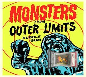 1964 A&BC Outer Limits CLAY MAN'S NEXT VICTIM #47 NEAR MINT-MINT 8(OC)-garno PSA