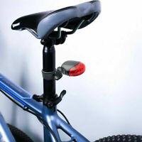 3 Modelli 3LED Bici retromarcia fanale posteriore per bicicletta, rossa bianca