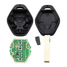 1 Set Universal fit for cars 3 Buttons Uncut Transponder Remote Key Chip Inside
