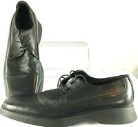 To Boot New York Oxford Mens 7.5 Black Square Toe Adam Derrick Career Shoe Italy