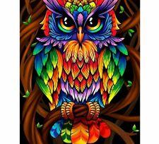 Diamond Painting Owl Design Pattern 5D Diy Home Decoration Embroidery Mosaic Kit