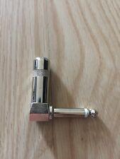 Right Angle 1/4 TS Mono Phone Plug Guitar Audio Connector 6.3mm phono Jack