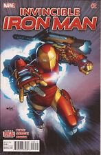 Invincible Iron Man #2 Dr Doom Madame Masque Hydra Brian Michael Bendis VF