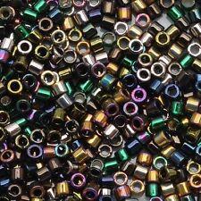 Miyuki Delica Seed Beads 11/0 Heavy Metals Metallic Iris Gold 7.2g-Tube (DB-MX23