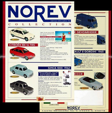 NOREV EDITION DÉCEMBRE 1996 / FICHE FEUILLET REVUE CATALOGUE PUB Citroen BX