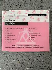 MADONNA Ray Of Light Advance Promo CD PROP370