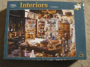 Holdson - Interiors - The Bakery - 1000 piece puzzle- unopened