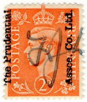 (I.B) George VI Commercial Overprint : Prudential Assurance