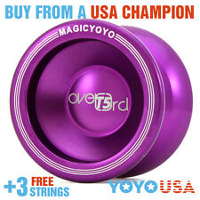 [WINTER SALE]Magic YoYo T5 Overlord Aluminum Alloy Purple + STRINGS