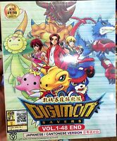 Digimon Data Squad (1 - 48 End) ~ All Region ~ Brand New Seal ~ Digimon Saver