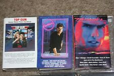 TOM CRUISE MOVIE SOUNDTRACK 3 CASSETTES - TOP GUN - COCKTAIL - DAYS OF THUNDER