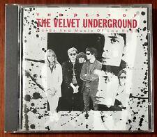 The Velvet Underground The Best Of The Velvet Underground CD – 841 164-2 – Ex