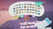 ALL Museum Bugs/Fish/Fossils/Art (Real + Fake) [Animal Crossing New Horizons]