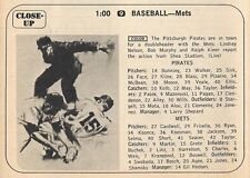 1968 TV BASEBALL AD~NEW YORK METS VS PITTSBURGH PIRATES~SHEA STADIUM~NOLAN RYAN