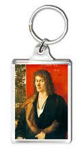 ALBRETCH DURER PORTRAIT OF OSWOLT KREL 1499 ART KEYRING LLAVERO