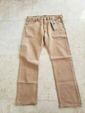 Jeans Levi's 501 beiges pour homme