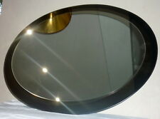 Miroir ovale design 1970's Modern vintage Fontana arte Max Ingrand Italie