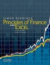 Principles of Finance with Excel 2E by Simon Benninga (Hardback, 2010)
