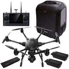 Yuneec Typhoon H Pro C-go3 4k Gimbal 2 Battery St16 Backpack Wizard Remote