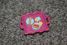 Sweet Streets Fisher Price Pink Hot Dog Food Tray Fast Food Doll Toy RARE VHTF