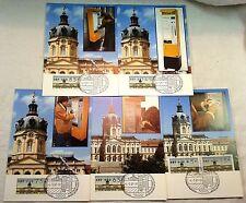 Berlin Automaten-Marken - Versandstellensatz Mi.Nr.1 Komplett 5 Werte 4.5.87
