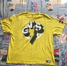 "CM Punk GTS T-Shirt ""Best in the World"" XXL WWE/WWF/ROH yellow"