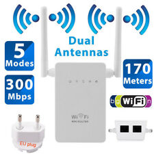 300Mbps 802.11 WiFi Repeater Wireless-N Extender Signal Booster Network Router