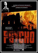 Psycho   Horror Movie Posters Classic & Vintage Cinema