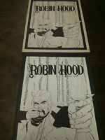 ROBIN HOOD PORTFOLIO 1978 PLATE SET BY HOWARD CHAYKIN 284 OUT OF 1000 SIGNED