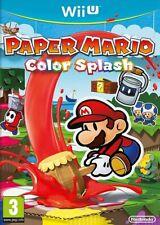Paper Mario Color Splash | Nintendo Wii U New