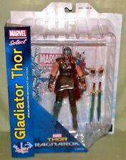"GLADIATOR THOR Thor Ragnarok Marvel Select 7"" Scale Figure Diamond IN HAND!"